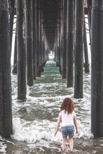 Under the Pier in Oceanside, CA