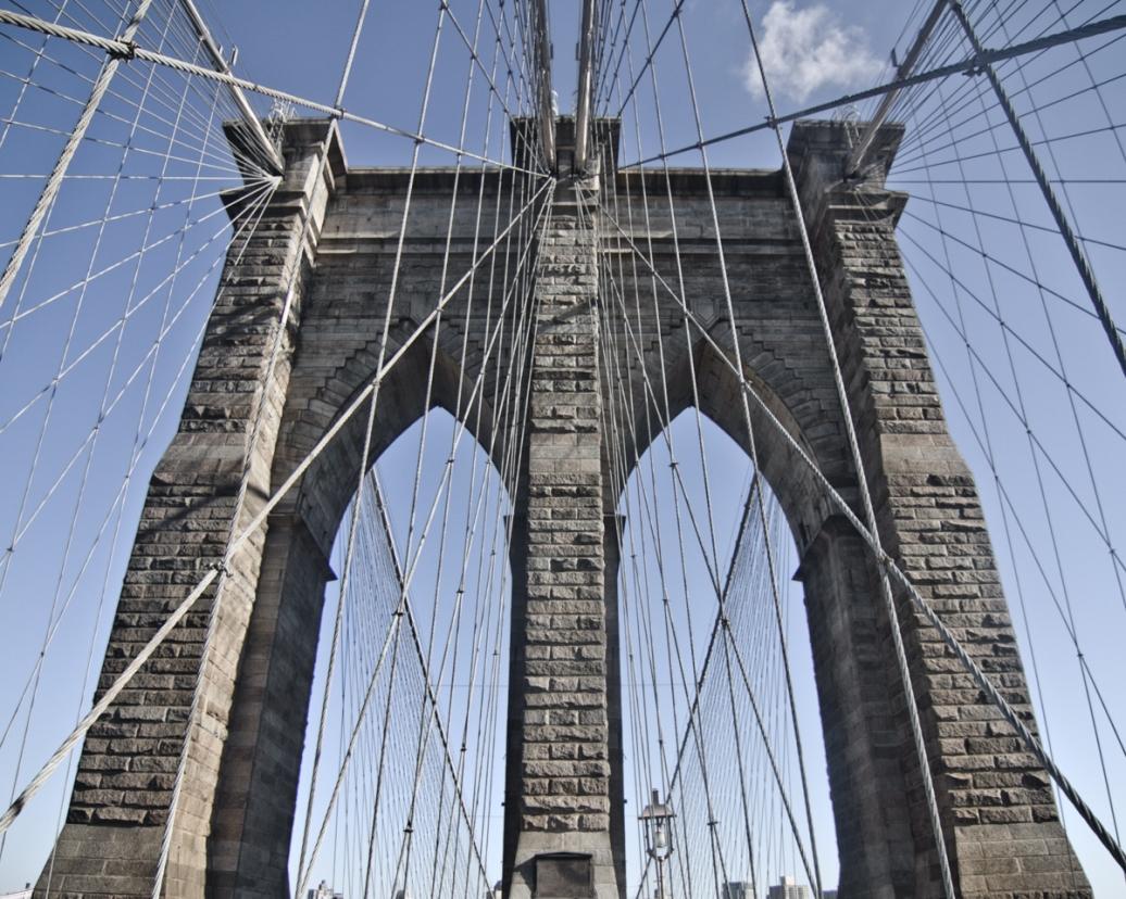 The Brooklyn Bridge on a Spring Break missions trip